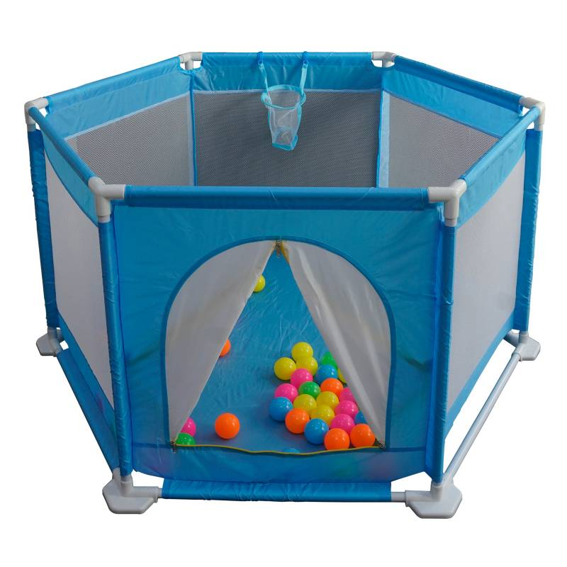 Kidscool - Corral Safety Fence con Pelotas