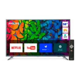 "Philips - LED 58"" 58PUD6513/44 4K Ultra HD Smart TV"