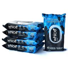 WHICE - Pack 5 Toallas Húmedas Masculinas Whice Ocean