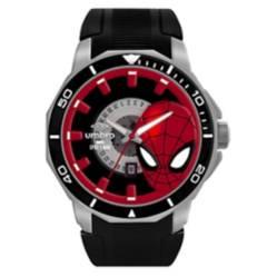 Umbro - Reloj Spider Man Negro Hombre