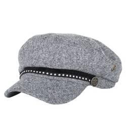 Gorro baker boy hat tweed