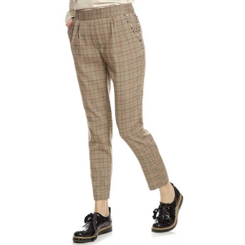 LIOLA - Pantalón Sastre Principe de Gales