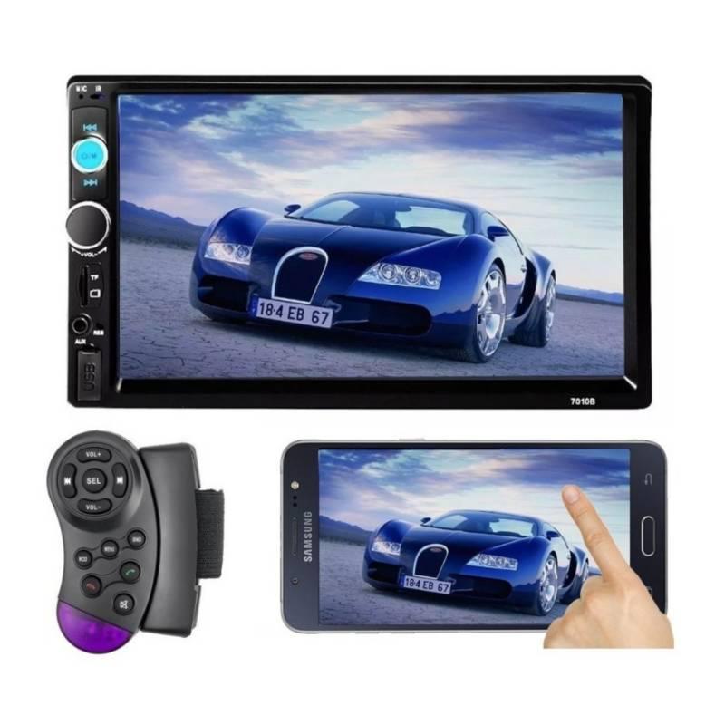 Generico - Radio Auto 2 Din Bluetooth Mirror Link+ Volante