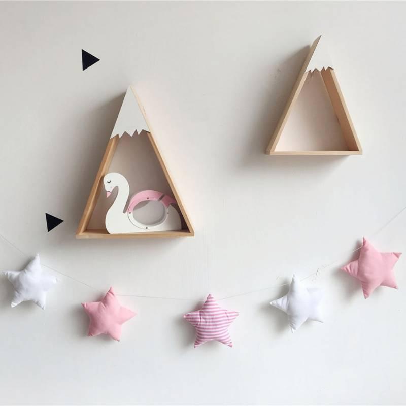 MI PEQUE - Estrellas Colgantes - Rosa