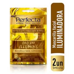 PERFECTA - Máscara Facial Gold 24k Iluminadora