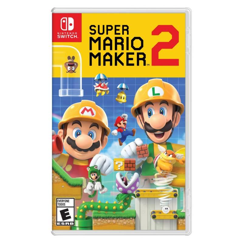 Nintendo - SW SWITCH SUPER MARIO MAKER 2