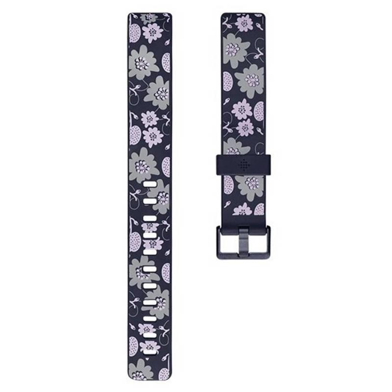 Fitbit - Pulsera Fitbit Inspire Print Bloom Talla L