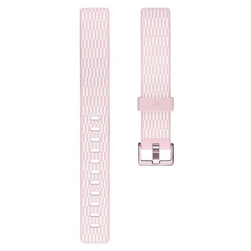 Fitbit - Pulsera Fitbit Inspire Deco Bloom Talla L