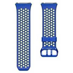 Fitbit - Pulsera Deportiva Fitbit Ionic Azul/Ama Talla S