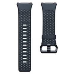 Pulsera Cuero Perforado Fitbit Ionic Azul Talla S