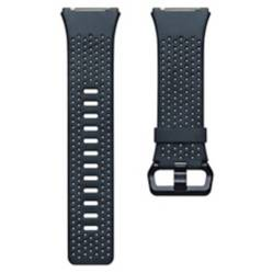 Fitbit - Pulsera Cuero Fitbit Ionic Azul Talla L