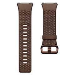 Fitbit - Pulsera Cuero Fitbit Ionic Cognac Talla L