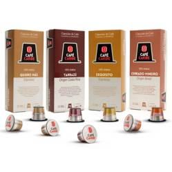 Pack 100% Arábica - 40 Cápsulas para Nespresso