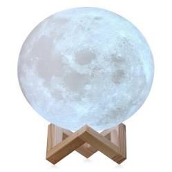 Generica - Lampara Luna 3D Touch