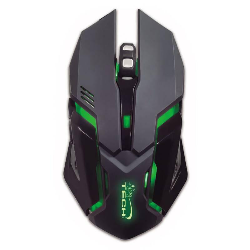 NJOYTECH - Njoytech Pack Gamer Ghost Knight 2 Teclado + Mouse