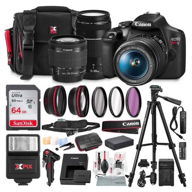 Canon - Canon T7 EOS Rebel cámara DSLR