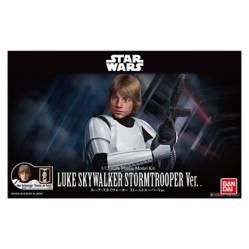 Bandai Hobby - Figura de Acción 1/12 Luke Skywalker Stormtrooper