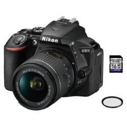 Nikon - Lente Nikon D5600 18-55Mm + 16Gb Sd + Control