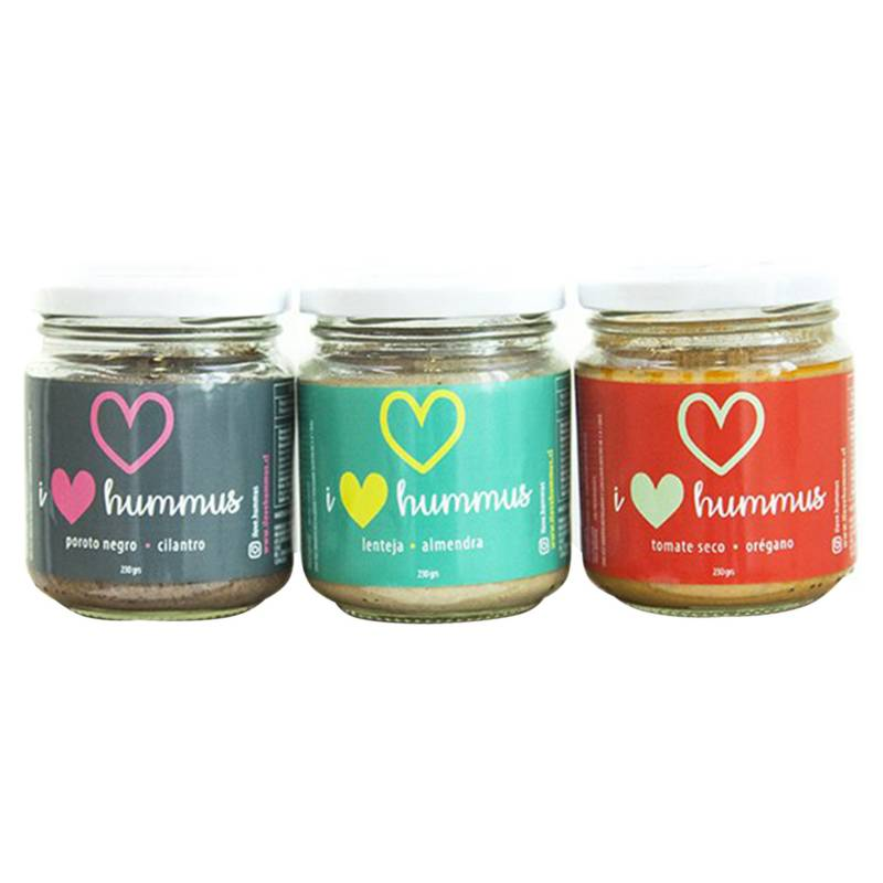 I LOVE HUMMUS - Pack 3 I Love Hummus