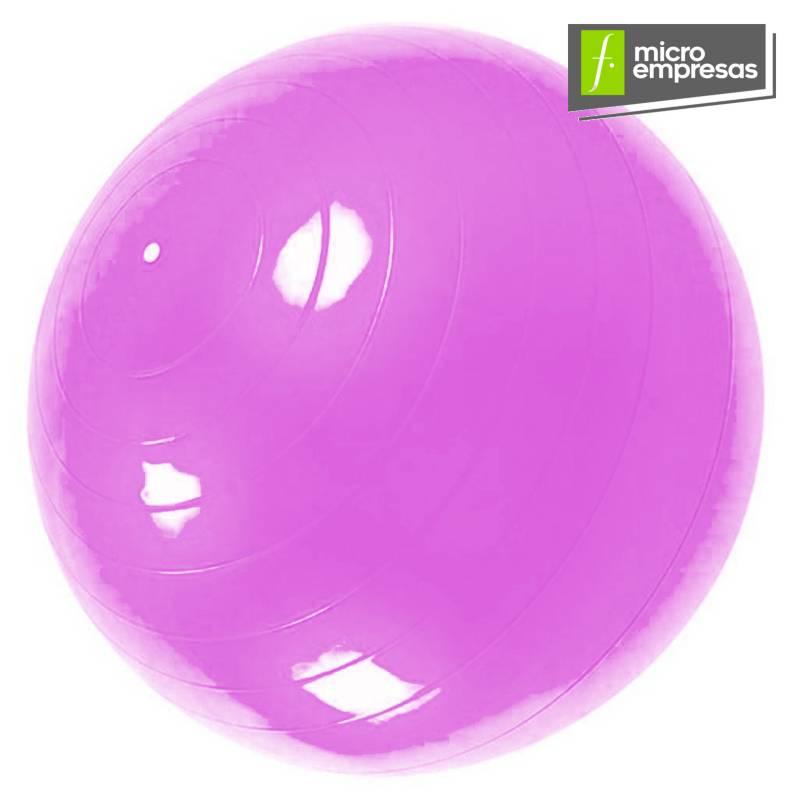 Generico - Pelota Balón 65 Cm + Inflador Yoga Pilates