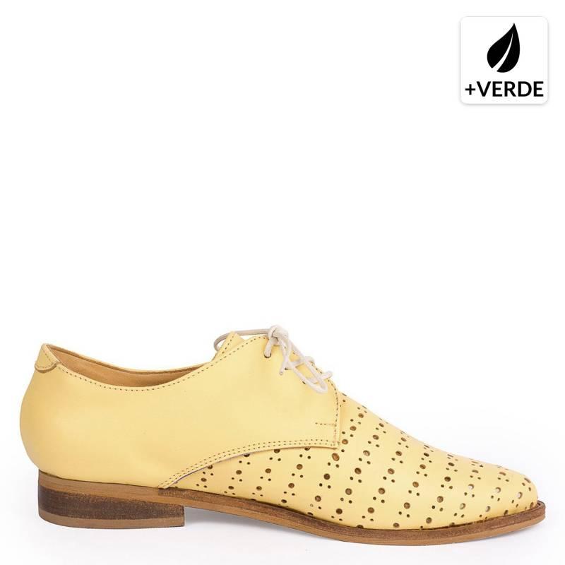 LA CELESTE - Zapato Mujer Oxford Arturo