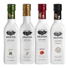 DELEYDA - Mix 12 250 ml Albahaca Ajo Merkén Premium