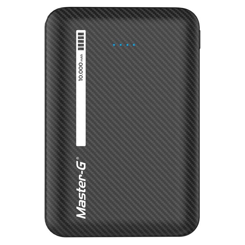 Master-G - Cargador Básico Power Bank 10000 mAh