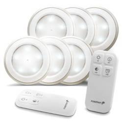 Fosmon Wireless Led Puck Light 6 Pack.