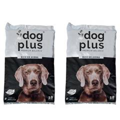 DOG PLUS - Alimento de Mascota Premiun  Avena 100% Natural