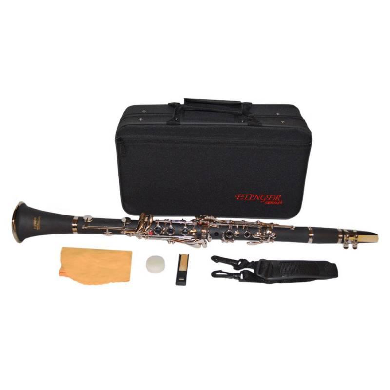 Etinger - Clarinete 17 Llaves Cl-10 Negro Etinger