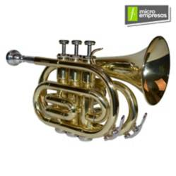 Trompeta Tro-202 Dorada (Pocket) Etinger