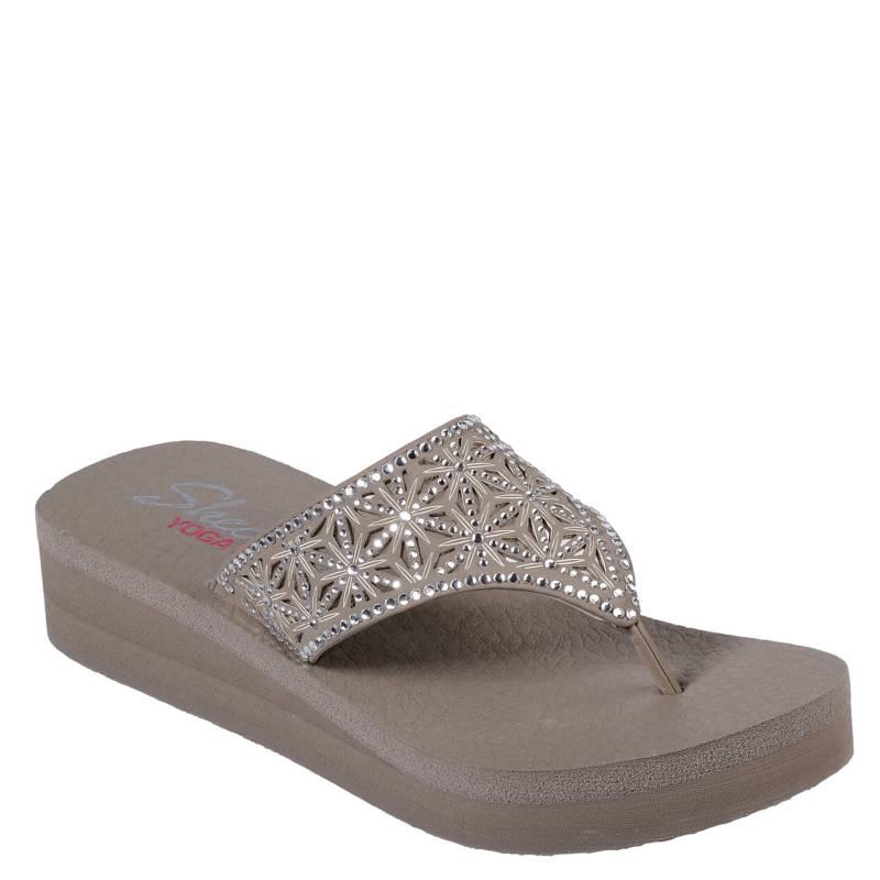 Skechers - Sandalia Mujer Q3Q4-31611-Be