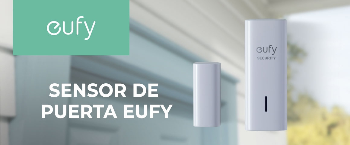 Sensor de Puertas y Ventana Eufy