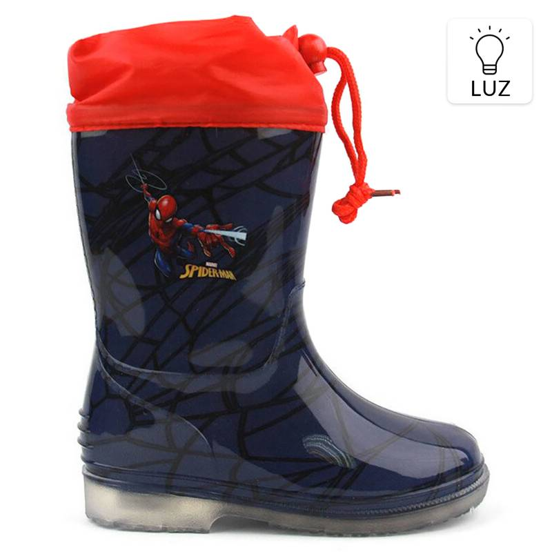 SPIDERMAN - Bota De Agua Luces