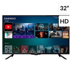"Daewoo - LED 32"" L32V750BAS HD Android TV"