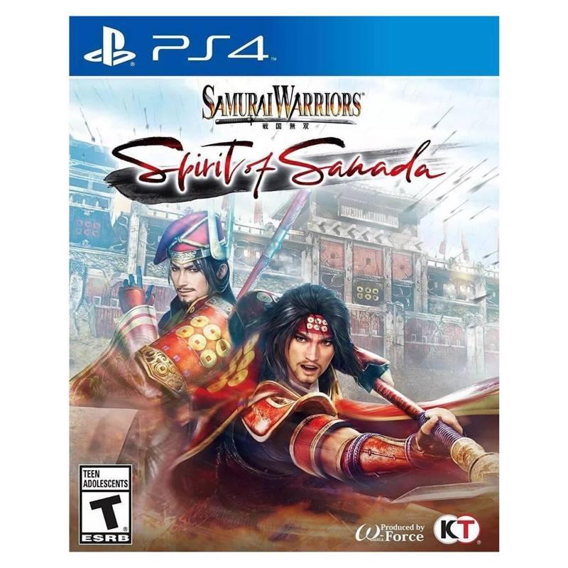 PLAYSTATION - Playstation Samurai Warriors Spirit Of Sanada - Ps4.