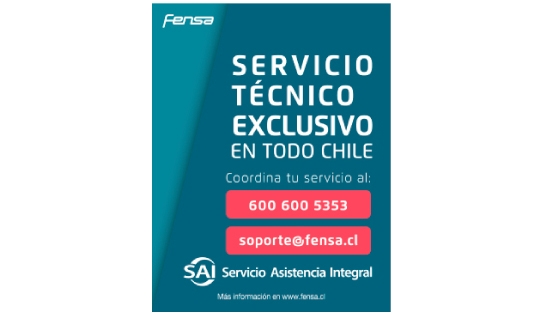 Tu secadora Europe 8 D tiene una cobertura de Arica a Punta Arenas, con la Red de Servicios Exclusivos de Asistencia Integral, SAI.