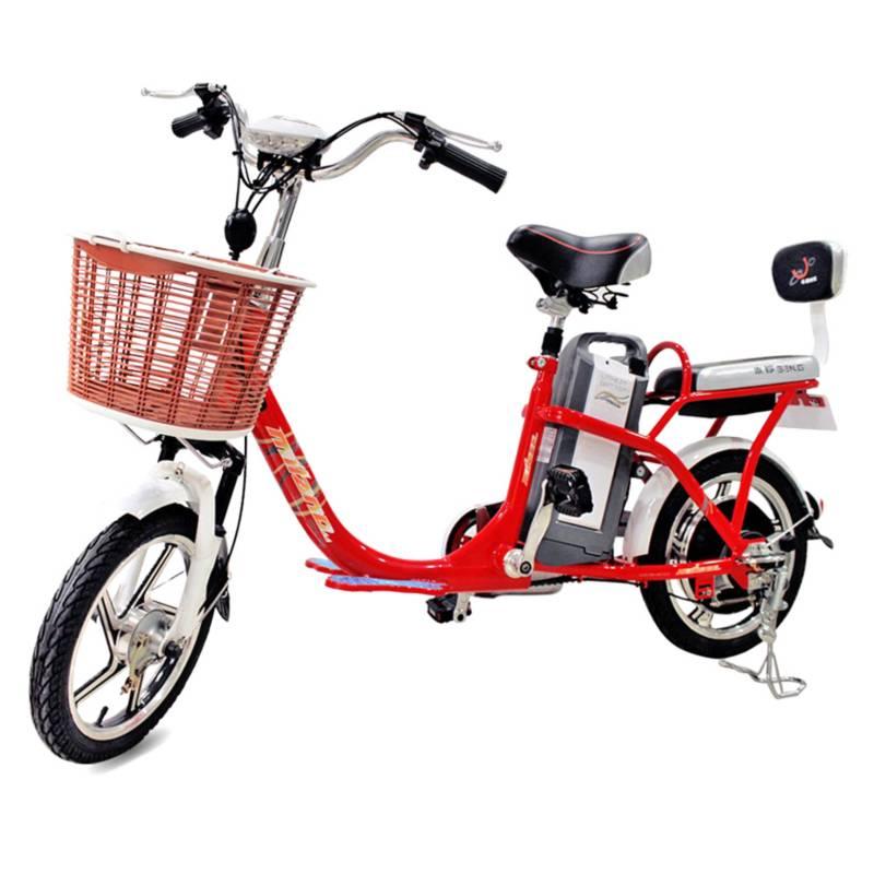 MILANO TMC - Bicicleta Electrica Travel Small Roja