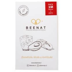 BEENAT - Envoltorios Reutilizables de Alimentos Pack 3M