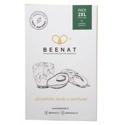 BEENAT - Envoltorios Reutilizables de Alimentos Pack 2XL