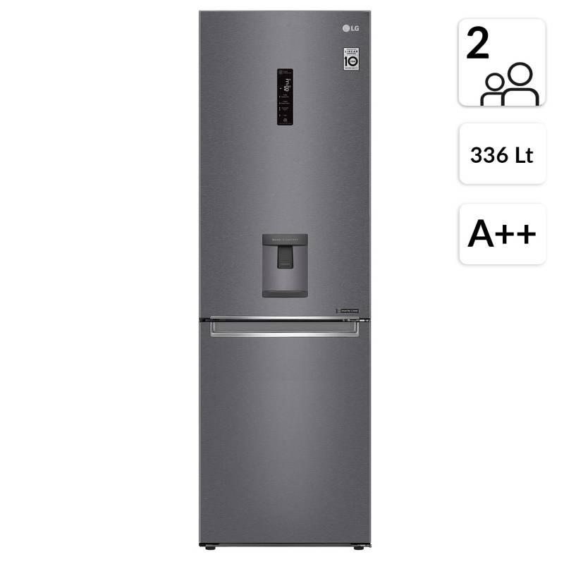 Lg - Refrigerador Bottom Freezer LB37SPGK 336 lt