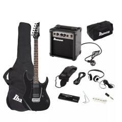 IBANEZ - Set de Guitarra Eléctrica Ibanez IJRX20U NEGRA