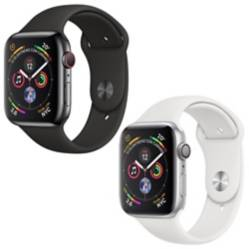 Apple - Reloj Apple Watch serie 4 40mm plata y negro