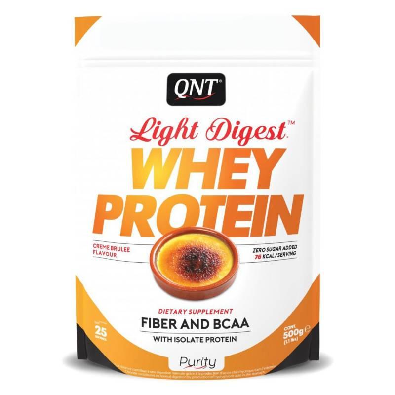 QNT - Proteína Light Digest Creme Brulee 500 gr