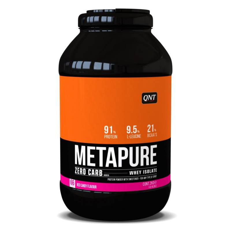 QNT - Proteína Metapure Zero Carb Red Candy 2 Kg
