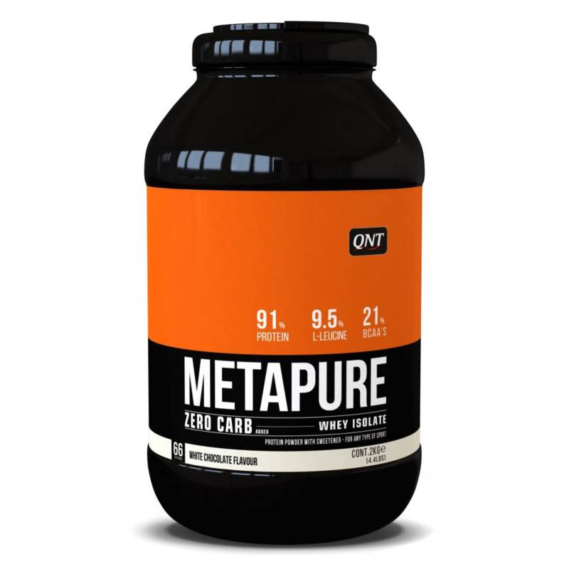 QNT - Proteína Metapure Zero Carb Chocolate Blanco 2 Kg
