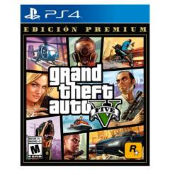 PLAYSTATION - GTAV V Premium Edition PS4
