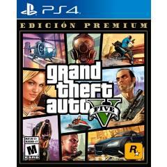PLAYSTATION - GTAV V Premium Edition PS4