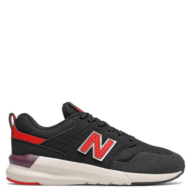 New Balance - YS009 Zapatilla Urbana Niño Negra