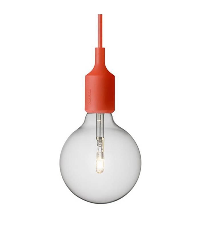 BRIC - Lámpara de Colgar Pul Roja